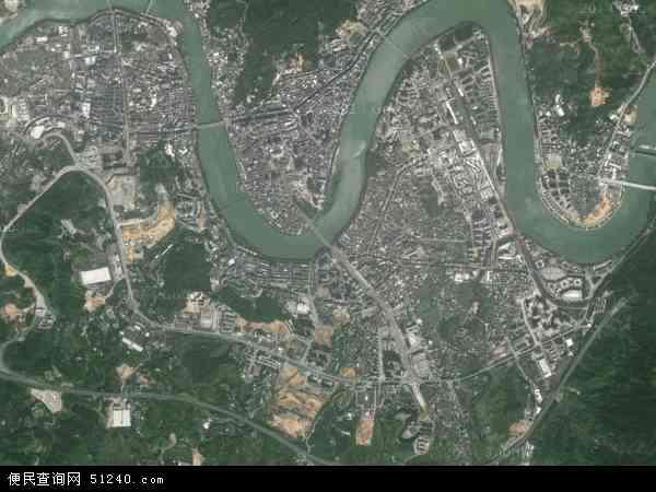凤城镇地图 - 凤城镇卫星地图