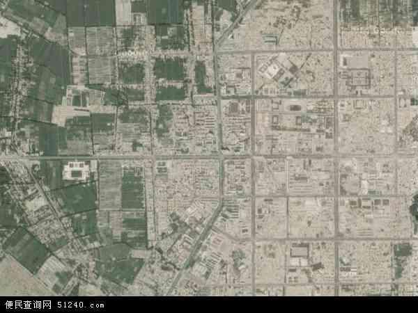 中国新疆维吾尔自治区喀什地区莎车县古勒巴格乡地图(卫星地图)图片