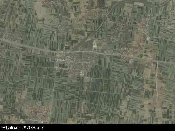 中国河南省郑州市中牟县黄店镇地图(卫星地图