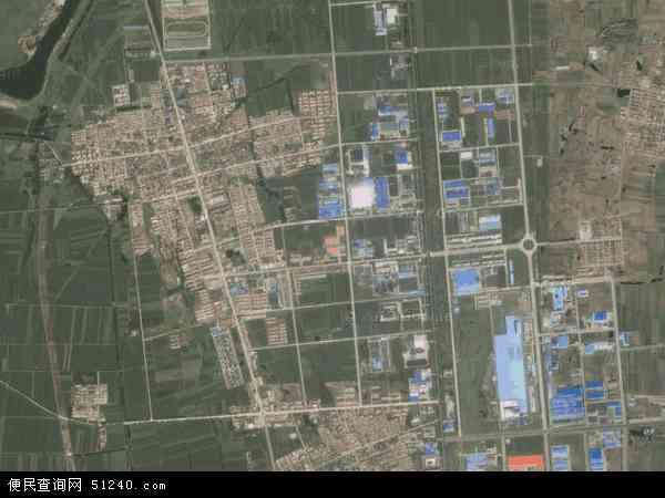 中国山东省青岛市莱西市姜山镇地图(卫星地图)