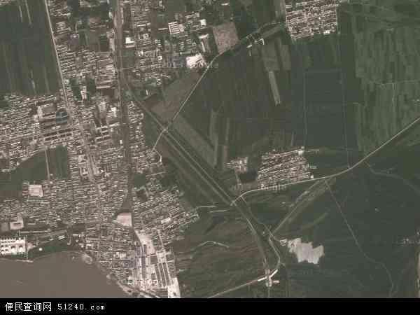 莲江口镇地图 - 莲江口镇卫星地图