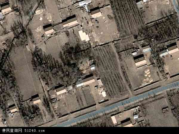 中国吉林省四平市梨树县刘家馆子镇地图(卫星地图)