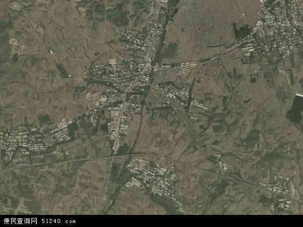 中国河北省秦皇岛市卢龙县潘庄镇地图(卫星地图)