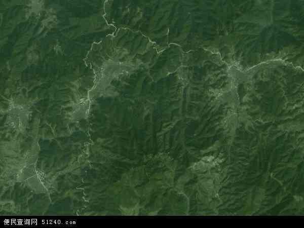 塔山瑶族乡卫星地图