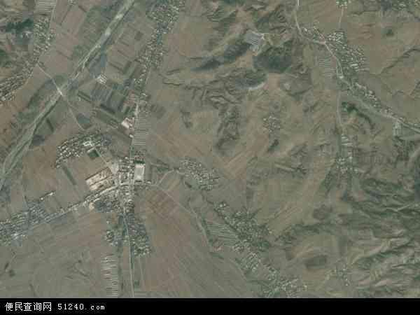 中国辽宁省葫芦岛市建昌县汤神庙镇地图(卫星地图)