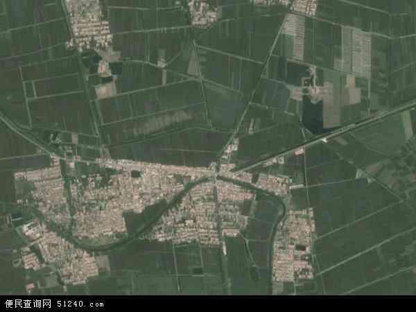 2014王卜庄镇卫星地图