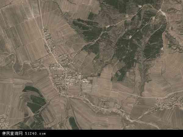 中国辽宁省朝阳市建平县杨树岭乡地图(卫星地图)