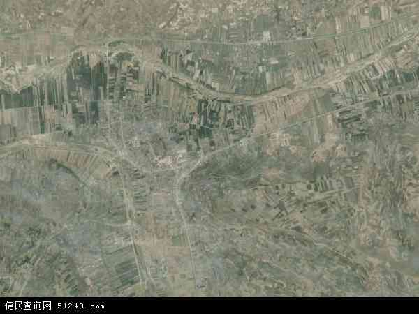 中国甘肃省陇南市礼县永兴乡地图(卫星地图)