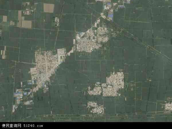 中国山东省菏泽市郓城县杨庄集镇地图(卫星地图)