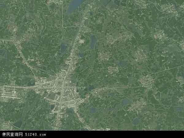 中国安徽省滁州市定远县张桥镇地图(卫星地图)