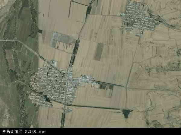 中国辽宁省锦州市义县张家堡乡地图(卫星地图)