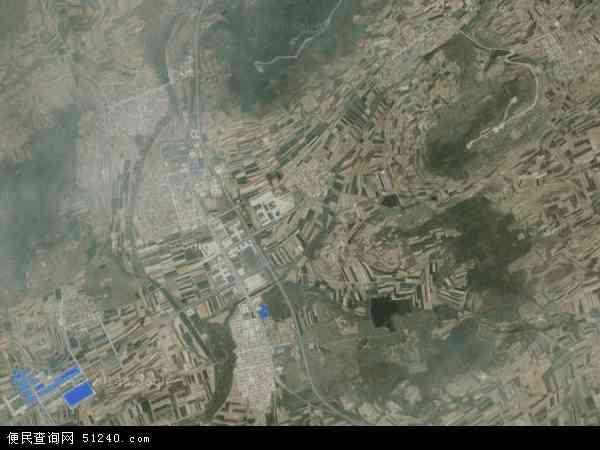 中国山东省威海市文登市张家产镇地图(卫星地图)