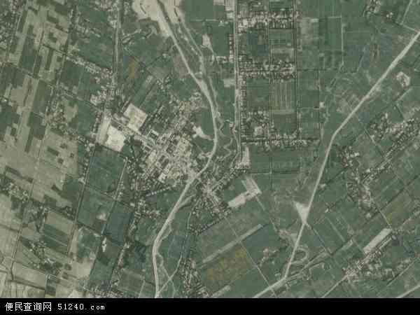 中国新疆维吾尔自治区喀什地区莎车县阿尔斯兰巴格乡地图(卫星地图)图片