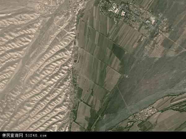 自治区塔城地区沙湾县博尔通古牧场地图(卫星地图)