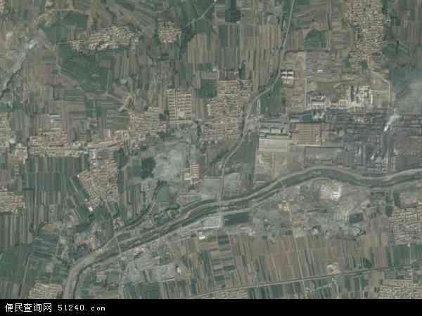 中国河北省唐山市遵化市崔家庄乡地图(卫星地图)