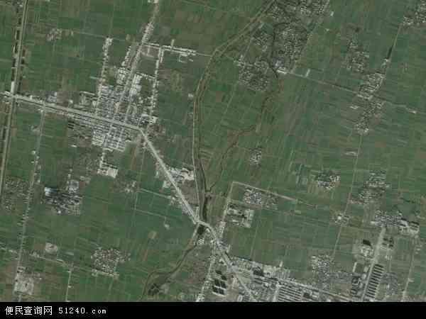 中国河南省南阳市宛城区官庄镇地图(卫星地图)图片