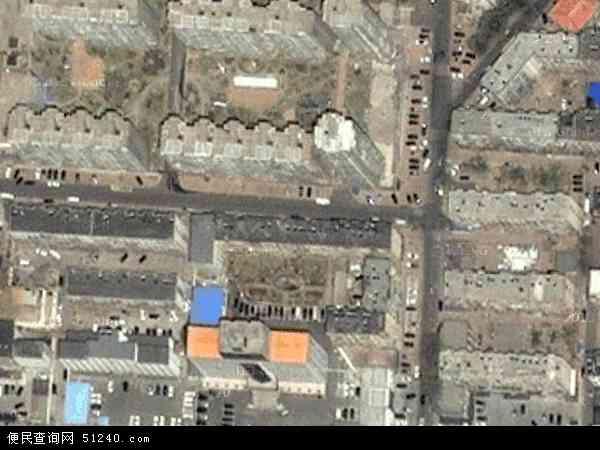 中国辽宁省大连市瓦房店市岗店办事处地图(卫星地图)