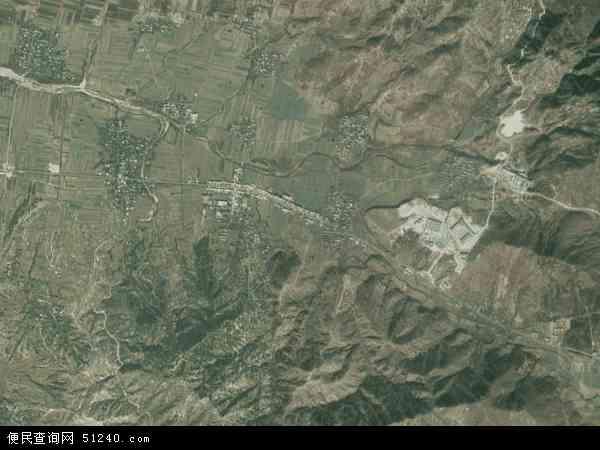 中国河南省驻马店市泌阳县黄山口乡地图(卫星地图)