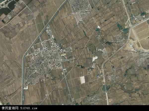 中国山东省烟台市龙口市黄山馆镇地图(卫星地图)