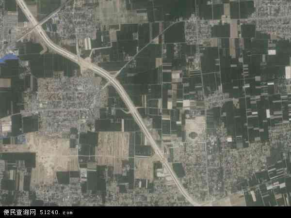 中国河南省焦作市温县南张羌镇地图(卫星地图)