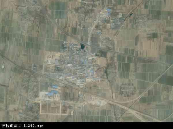 中国河北省衡水市武邑县清凉店镇地图(卫星地图)