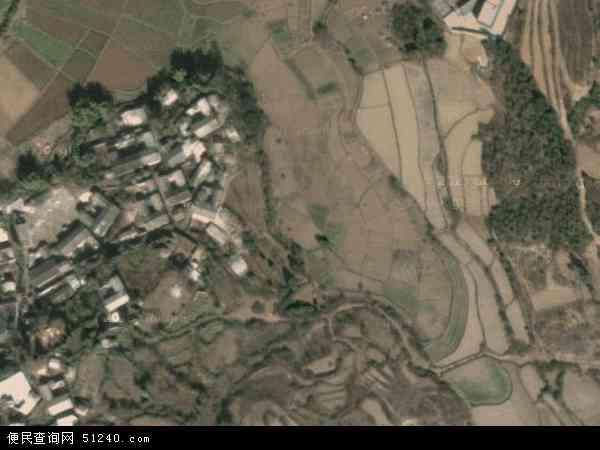 双河彝族乡高清卫星航拍地图