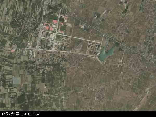 中国山东省泰安市新泰市西张庄镇地图(卫星地图)