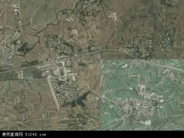 中国河北省秦皇岛市卢龙县印庄乡地图(卫星地图)