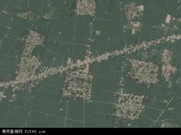 中国河北省邯郸市魏县张二庄镇地图(卫星地图)图片