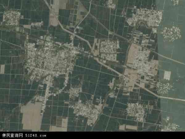 中国河南省平顶山市鲁山县张官营镇地图(卫星地图)