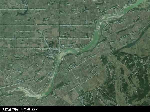 双江口镇卫星地图 - 双江口镇高清卫星地图 - 双江口镇高清航拍地图