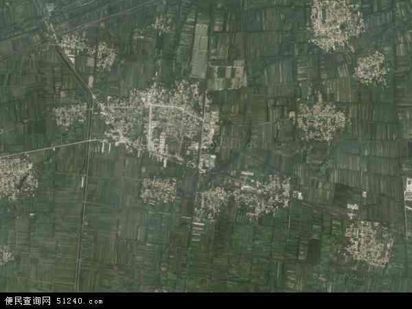 中国山东省菏泽市郓城县玉皇庙镇地图(卫星地图)