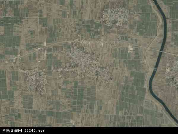 中国河北省邢台市巨鹿县张王疃乡地图(卫星地图)