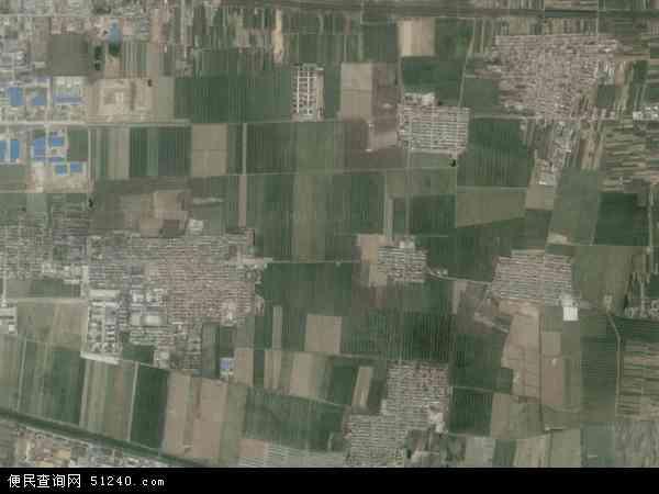 中国河北省石家庄市晋州市周家庄乡地图(卫星地图)