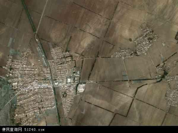 中国辽宁省铁岭市昌图县两家子农场地图(卫星地图)