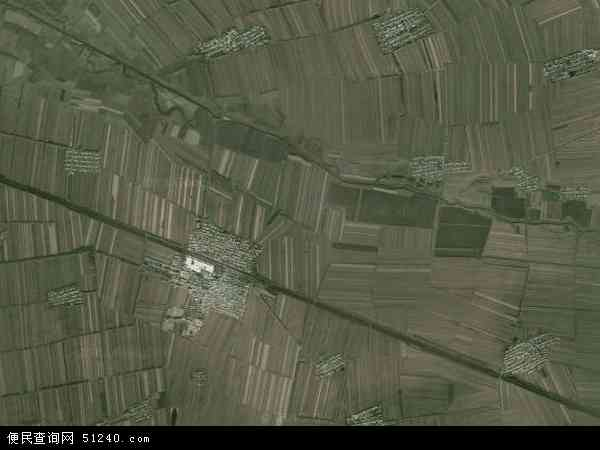四方山农场地图 - 四方山农场卫星地图