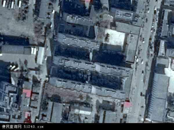 自治区塔城地区塔城市窝依加依劳牧场地图(卫星地图)