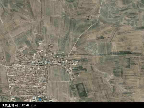 中国吉林省白城市通榆县兴隆山镇地图(卫星地图)