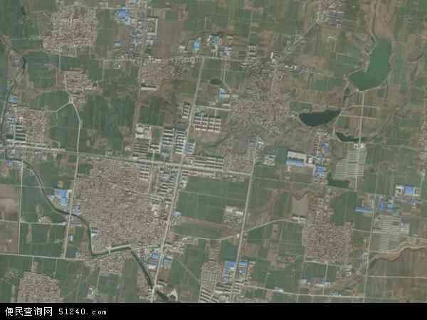 中国山东省济南市章丘市相公庄镇地图(卫星地图)