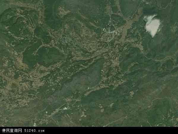 保基苗族彝族乡卫星地图