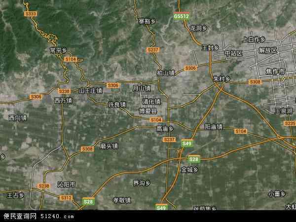 中国河南省焦作市博爱县博爱县孝敬镇地图(卫