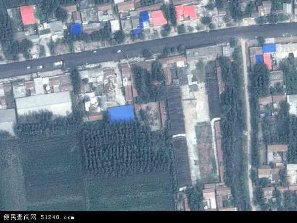 中国河南省濮阳市濮阳县濮阳县柳屯镇地图(卫星地图)