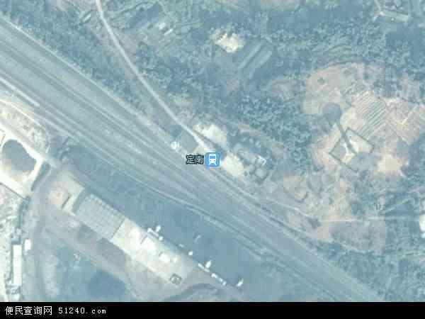 定南县工业园地图 - 定南县工业园卫星地图