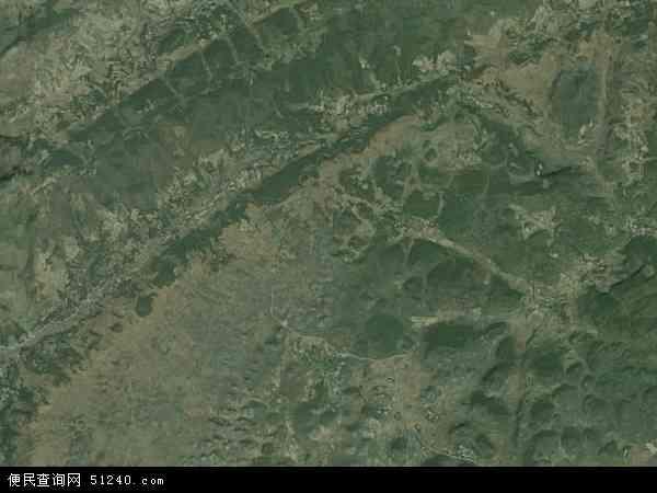 中国贵州省六盘水市水城县青林苗族彝族乡地图(卫星地图)图片