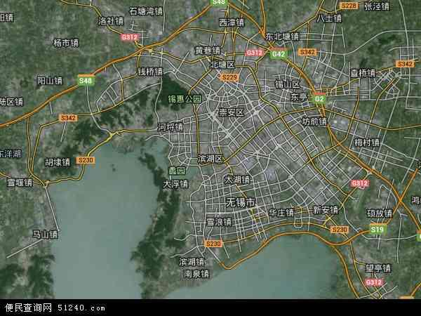 无锡土地_无锡新加坡工业园地图 - 无锡新加坡工业园卫星地图 - 无锡 ...