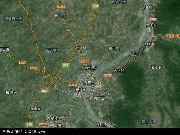 吉州区工业园小区地图