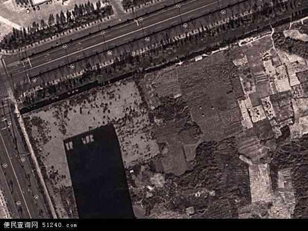 中国河北省唐山市乐亭县唐山湾国际旅游岛地图(卫星地图)