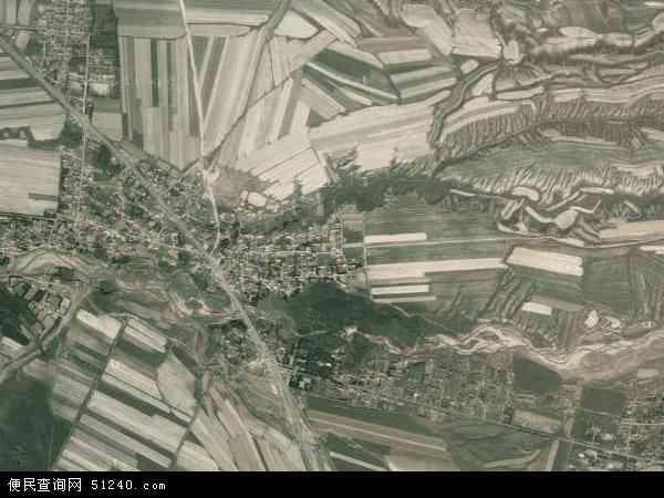 中国新疆维吾尔自治区塔城地区额敏县霍吉尔特蒙古民族乡地图(卫星