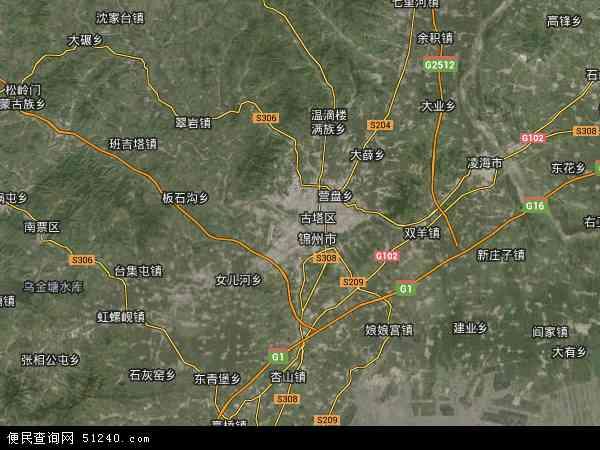 锦州市果树农场地图