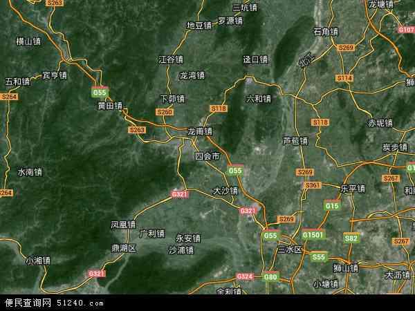 广东省济广监狱地图